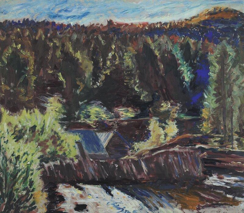 Myllarfossen i Grungedal 1933