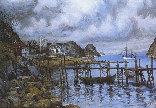 Fra en uthavn 1908