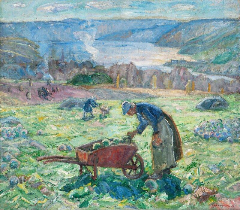 Høstlandskap 1920