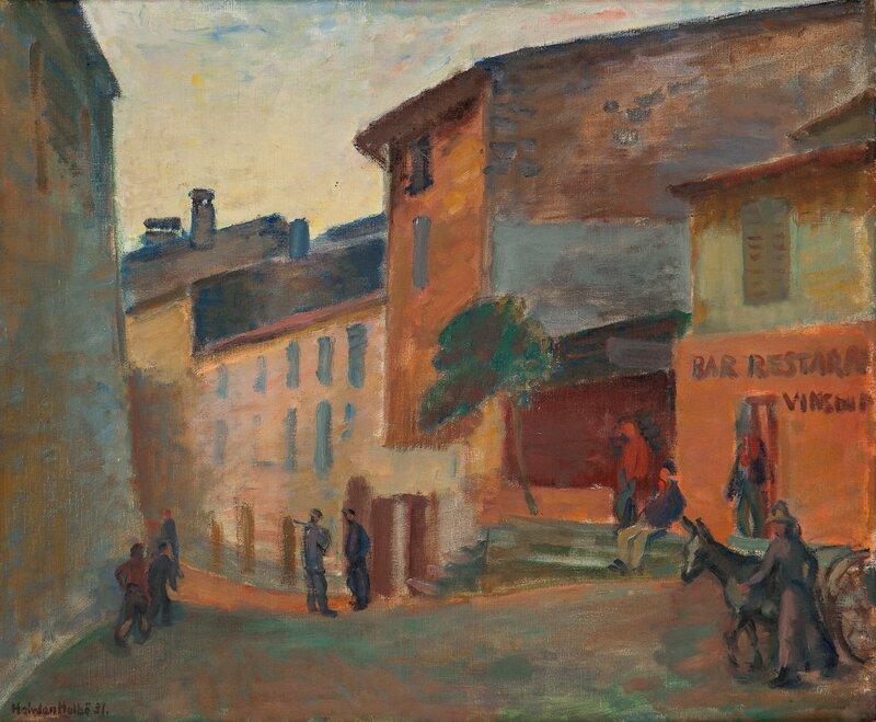 Kveld, La Gaude 1931
