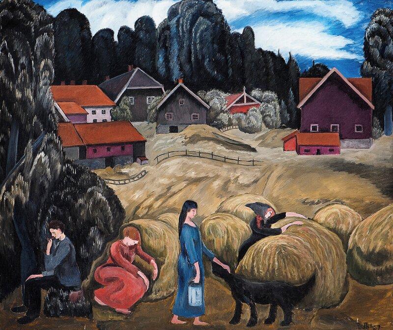 Folkeliv på Brevik Gård, Son 1927