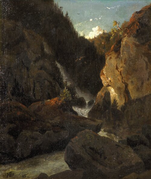 Fossefall 1845