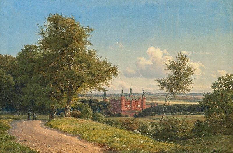 Fredriksberg Castle, Denmark 1855