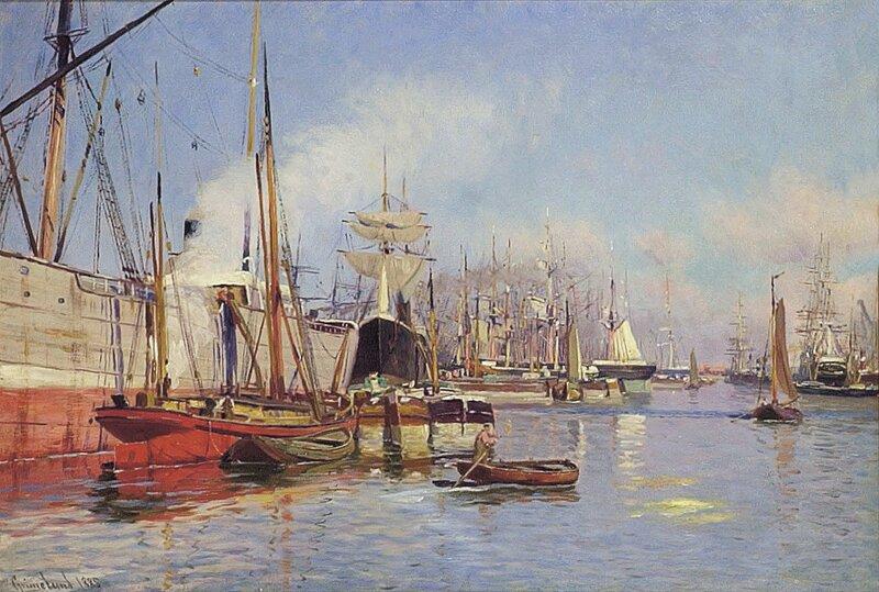Havneparti 1885