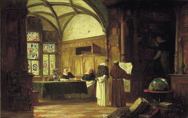Klosterbibliotek 1881