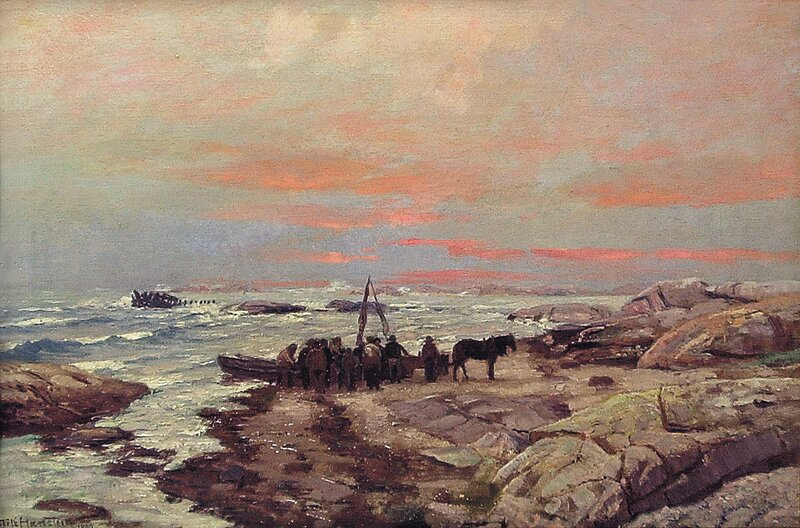 Skibbrudd 1890
