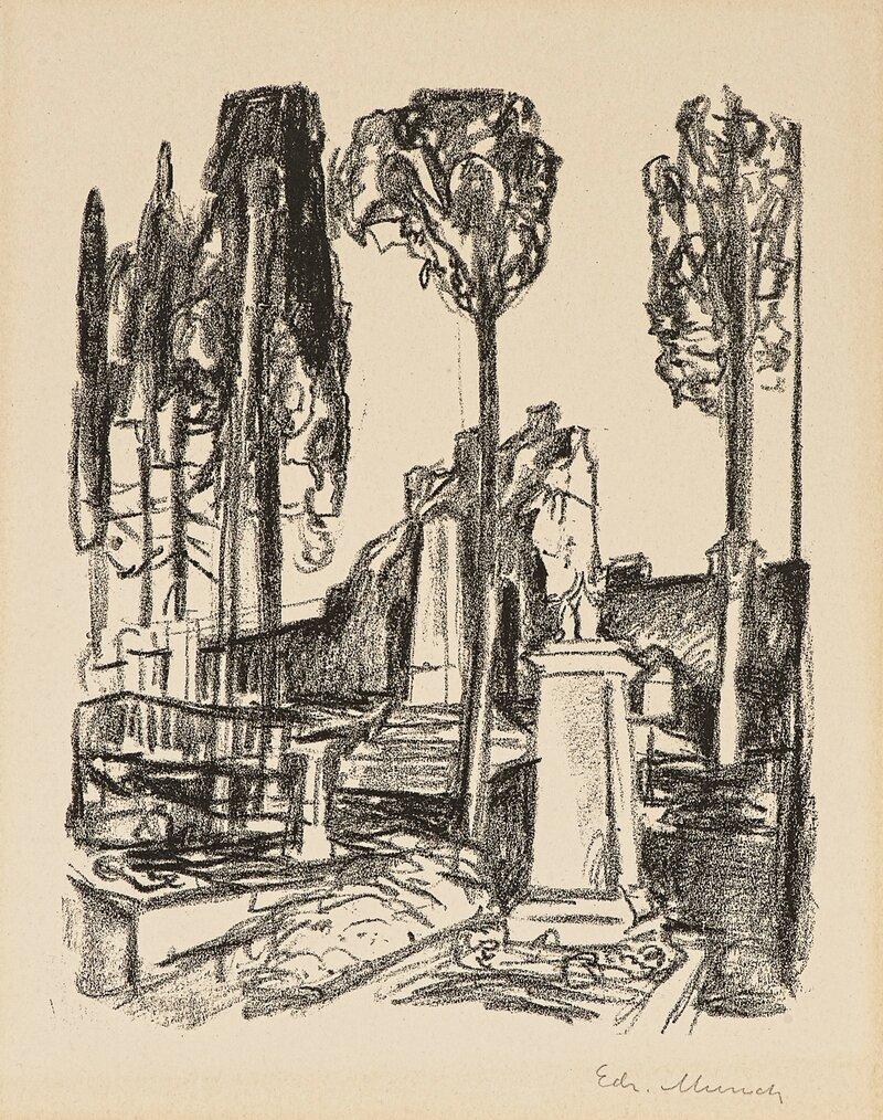 P.A. Munchs grav i Roma