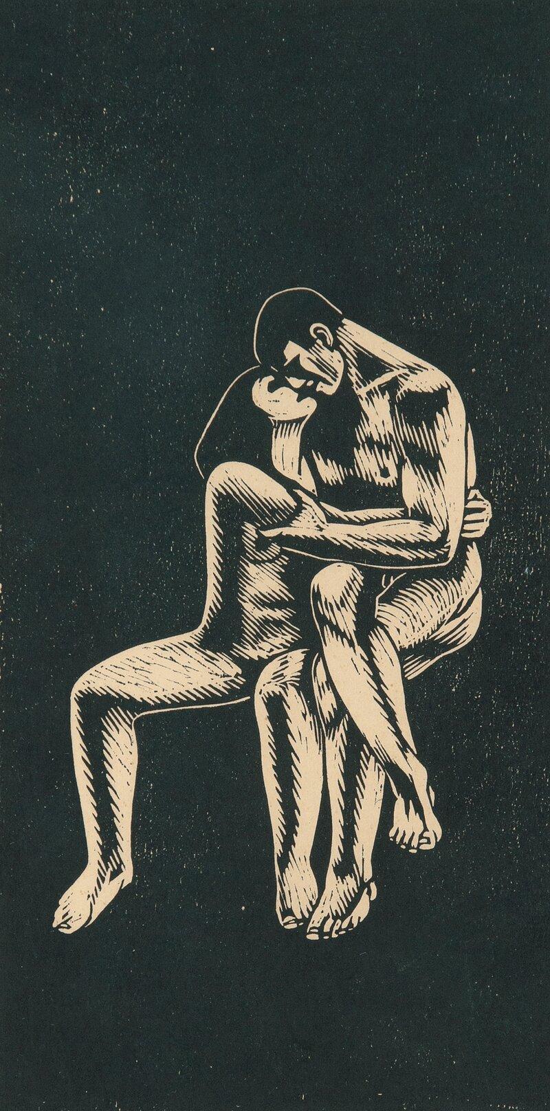 Mann og kvinne, variant av Mann og kvinne under et tre