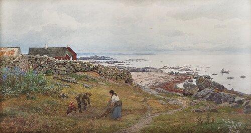 Fra Torekov ved Kattegat 1890