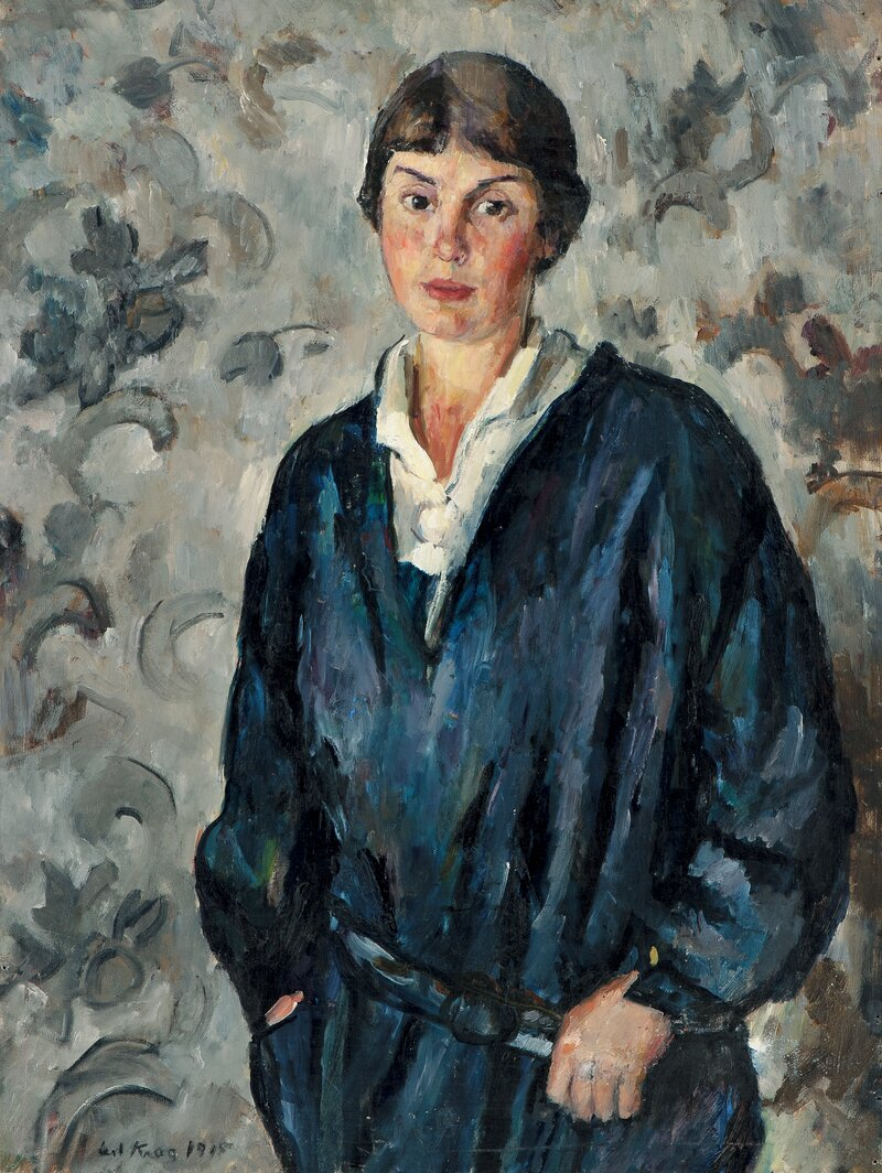 Portrait of Astri Welhaven 1915