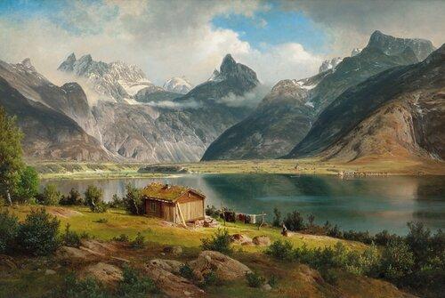 Romsdalshorn 1867