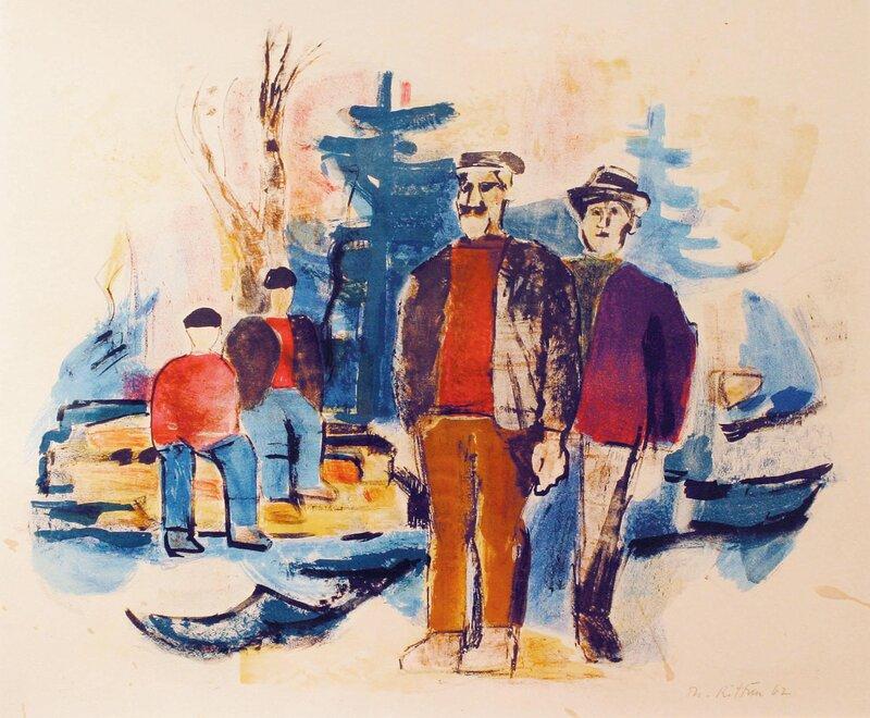 Tømmerhuggere 1962