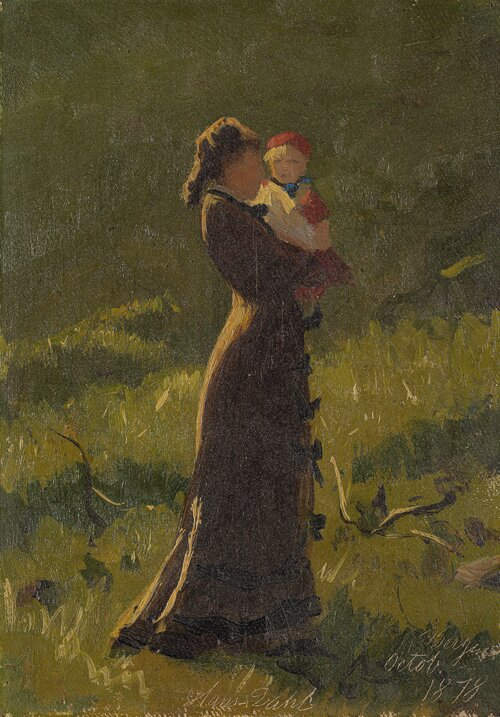 Mother and Child 1878