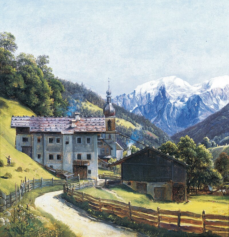 Fra Ramsau 1830