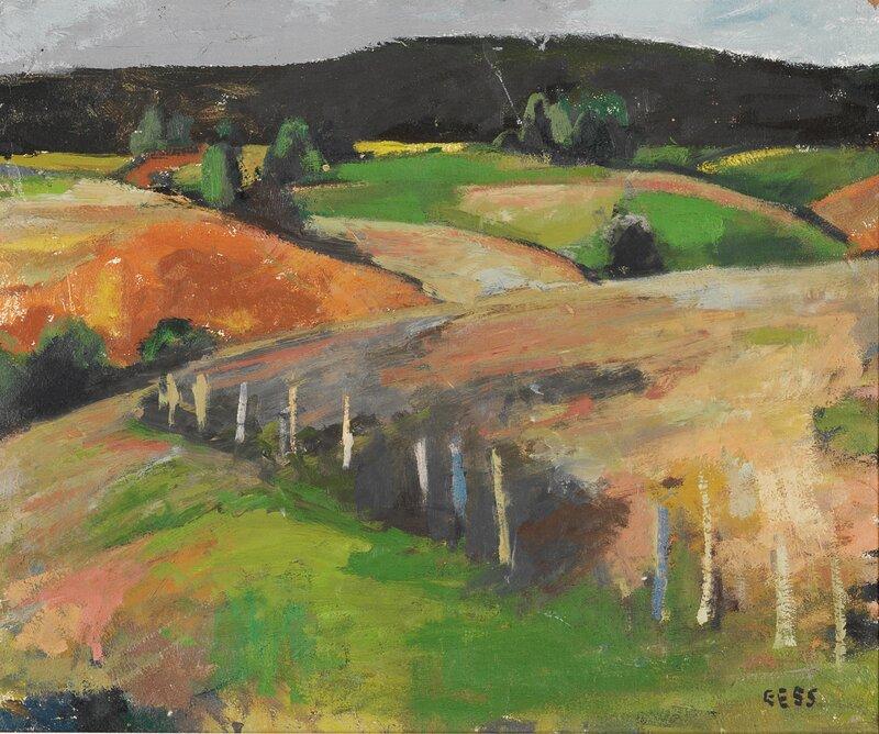 Åkerlandskap 1955