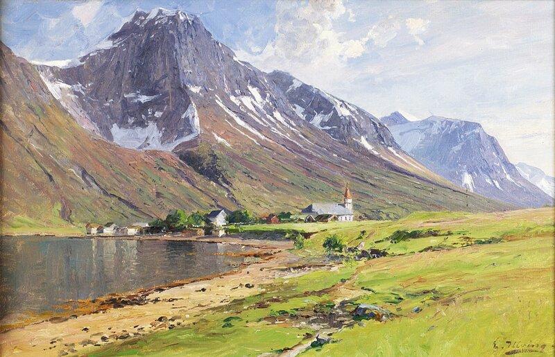 Fra Hjørundfjord Sæbø