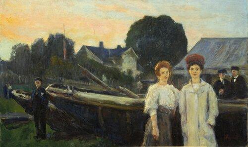 Fra Åsgårdstrand 1908