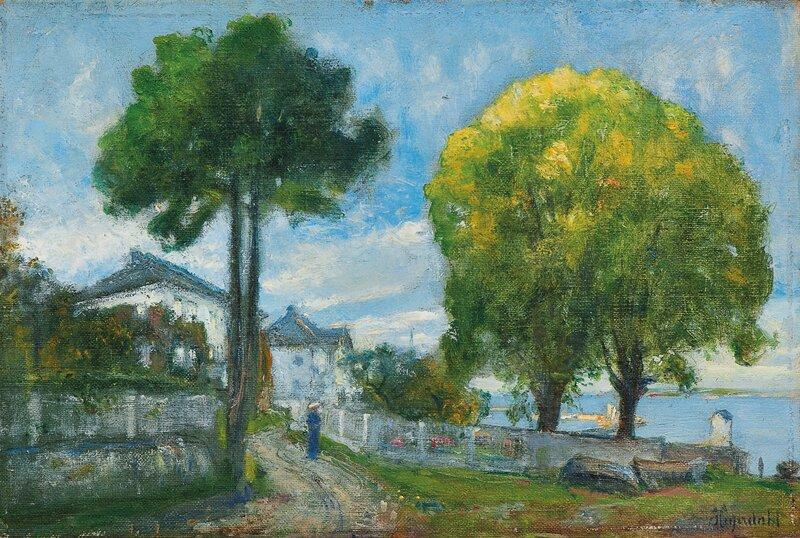 Trær i Åsgårdstrand