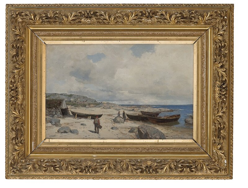 Fiskere på Jæren 1885