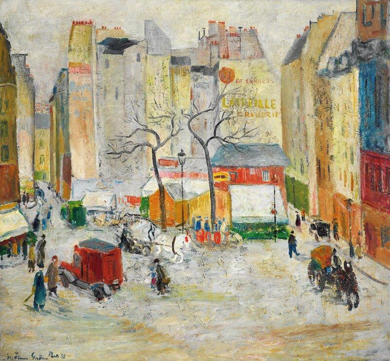 Latinerkvarteret i Paris 1938