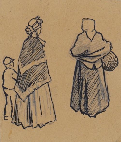 To kvinner og et barn