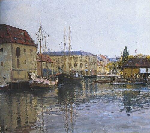 Fra Borkehullet, Christiania 1893