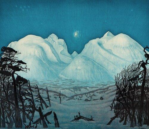 Vinternatt i Rondane
