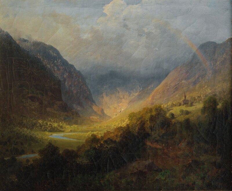 Til kirke 1846