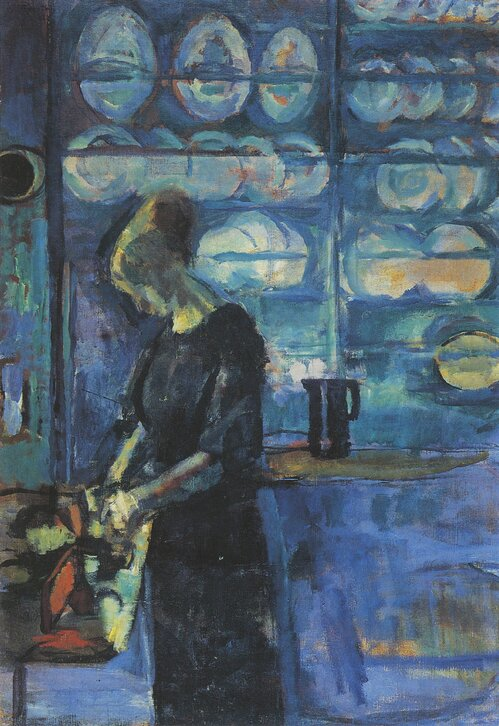 From my blue Kitchen 1913