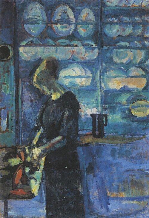 Fra mitt blå kjøkken 1913