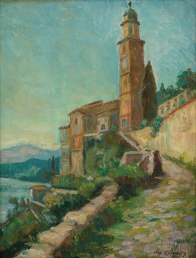 Fra Morcote, Luganosjøen