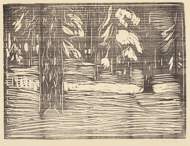 Granskog i snø