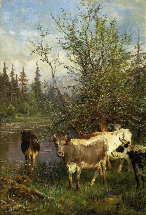 Ved tjernet 1886