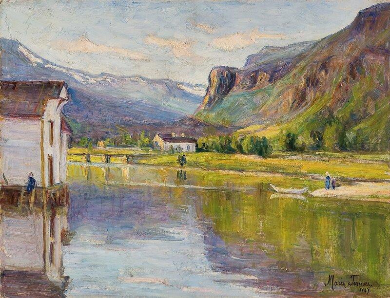 Fra Strandebarm i Hardanger 1927