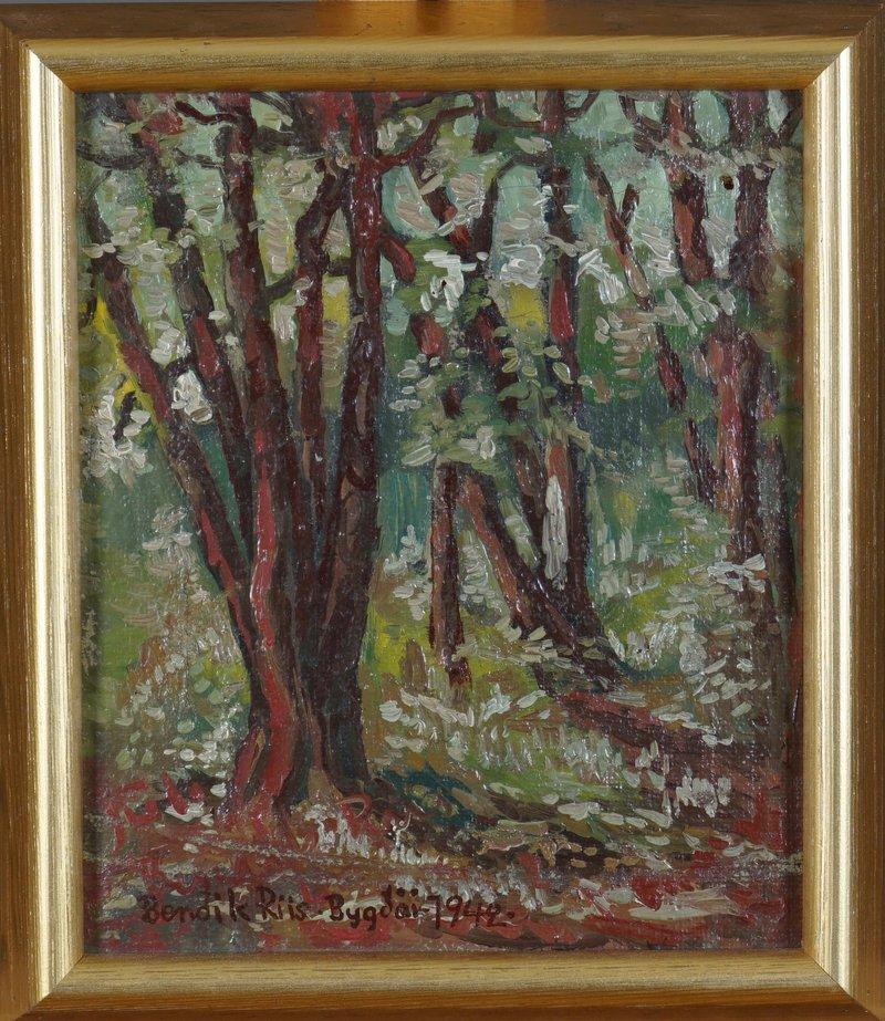 Skoglandskap 1942