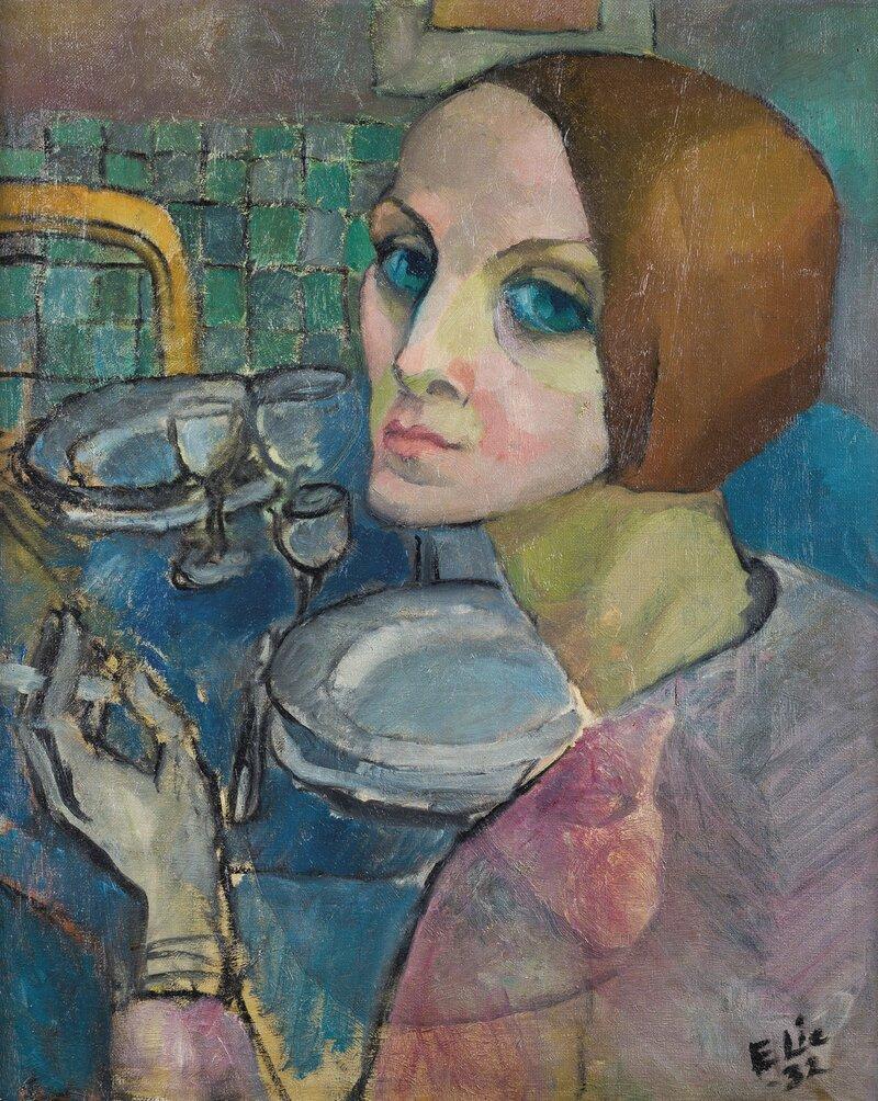 Kvinneportrett 1932