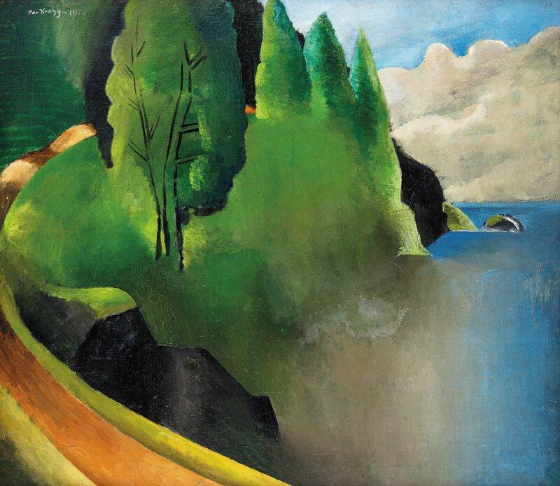 Grønt landskap 1914