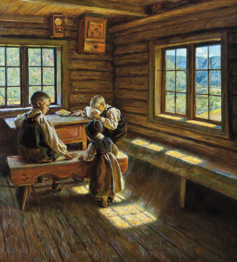 Interiør Setesdal 1909