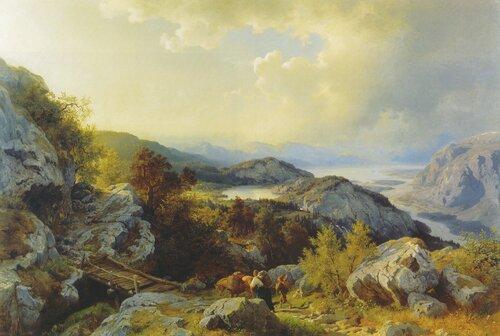 Fra Vossevangen 1860