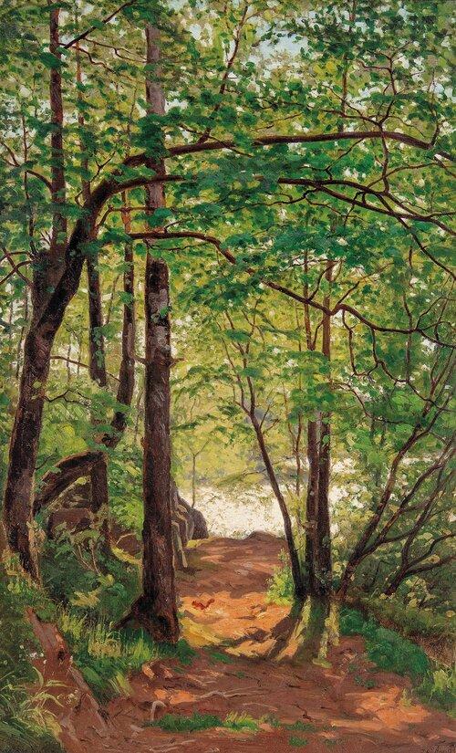 Skogsinteriør 1895