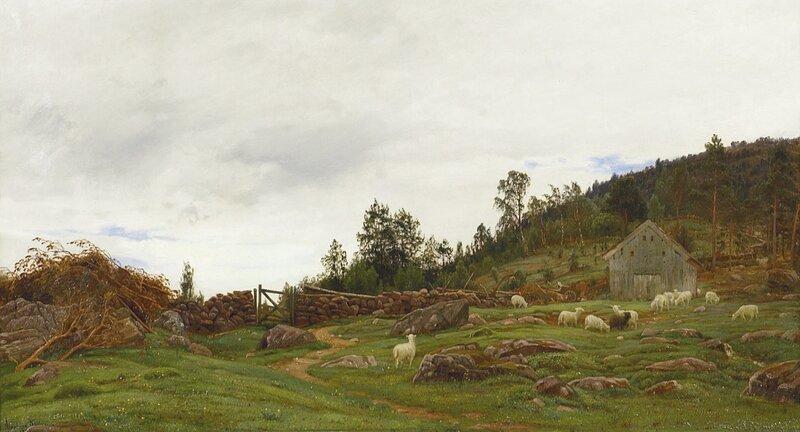 I utmarken 1887