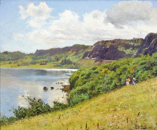Ved Holmestrand 1883