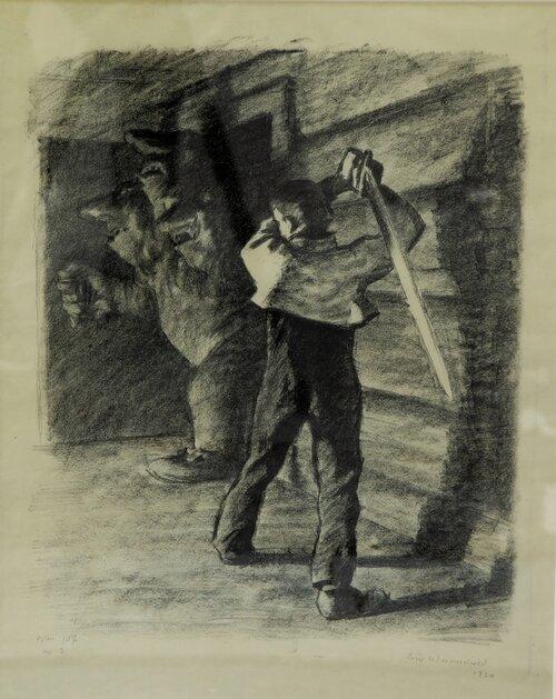 Askeladden slår i hjel trollet 1930