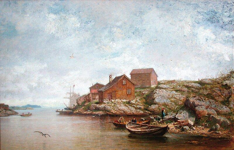Seilskutehavn 1880