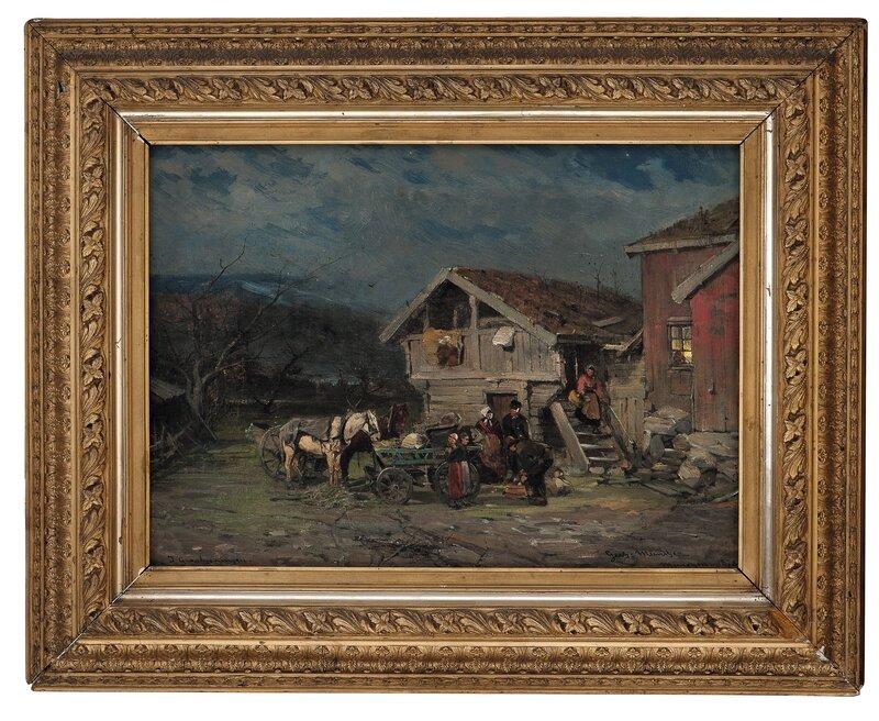 I grålysningen 1878