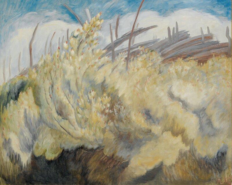 Blomstrende busker 1934