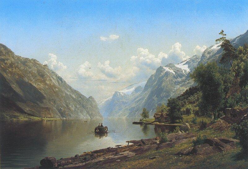 Fra Hardangerfjorden 1867