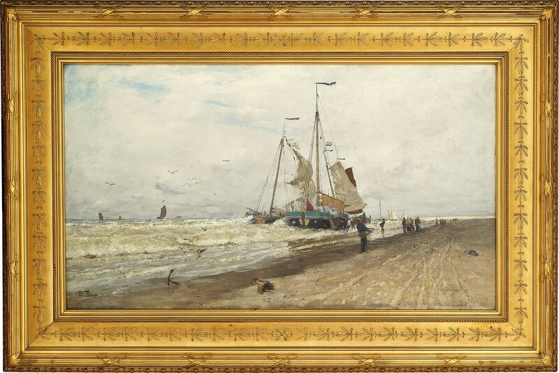 Båter ved kysten