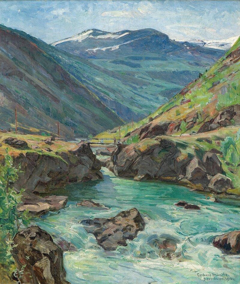 Fra Bøverdalen 1916