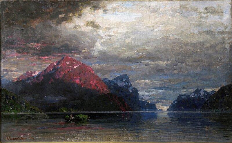 Fra Sognefjorden 1907